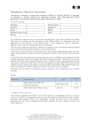 Service Contract english
