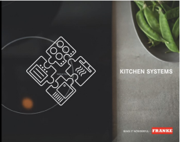 Franke Kitchen Systems Brochure