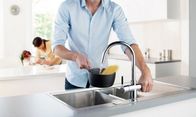 Minerva 3-in-1 Boiling Water Taps
