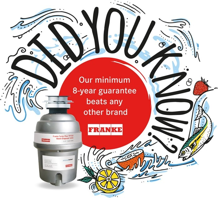 Franke Food Waste Disposal Units