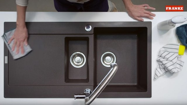 How to clean your Franke Fragranite sink