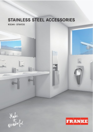 Franke stainless steel accessories