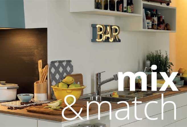Cappa Smart Deco: mix and match