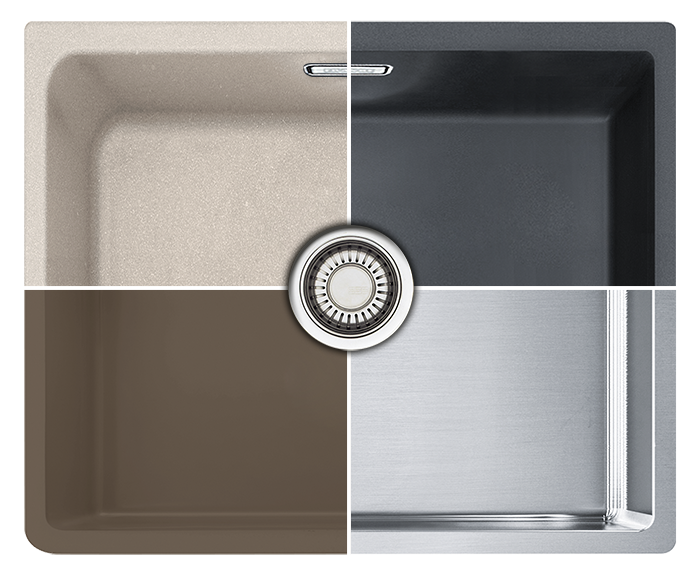 Frames by Franke Stainless Steel Sink