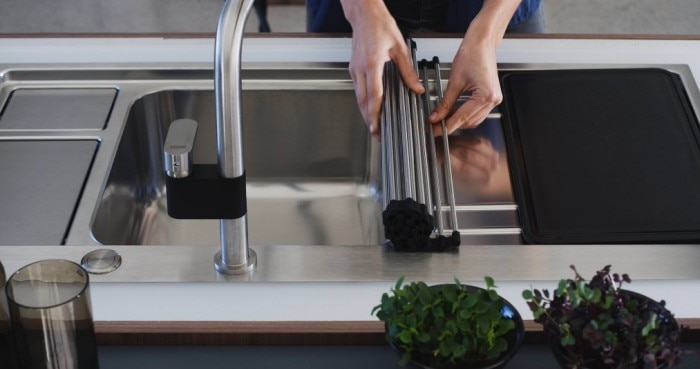 A Space Saving Kitchen Solution
