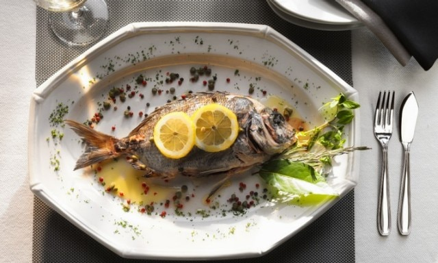 Sea Bream With Capers