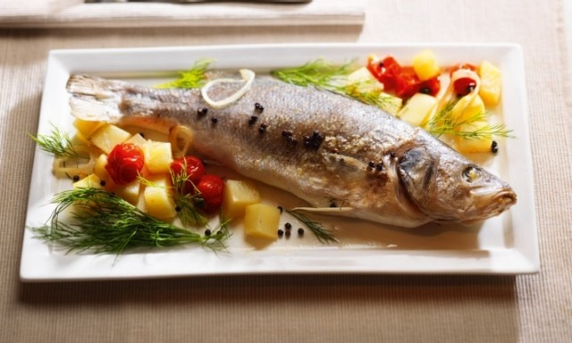 Bass En Papillote With Potatoes