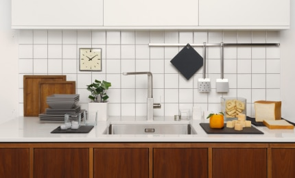There's a stylish stainless steel tap for every taste