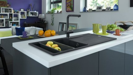 Fragranite Urban Sink & New Super Metallic colors