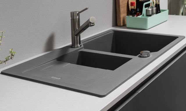 Urban Granite Kitchen Sink Doing The Dishes Is In Fashion