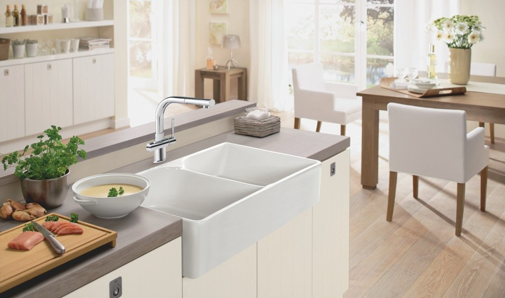 Fireclay | Franke Kitchen Systems