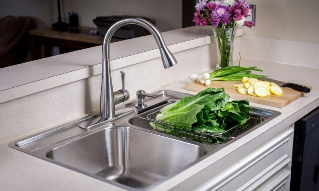 A New Sink In Next To No Time: Franke Fast In Sinks