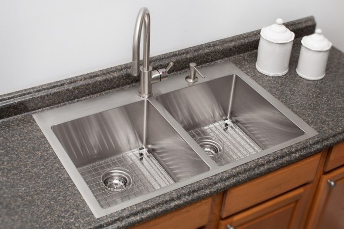 stainless steel topmount sinks - Frank Kitchen Sink