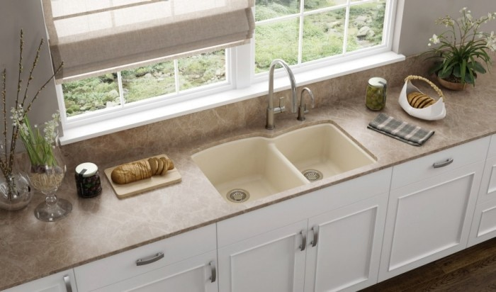 How To Clean Stone Sink : Granite Sinks Granite Kitchen Sinks Franke Kitchen Systems